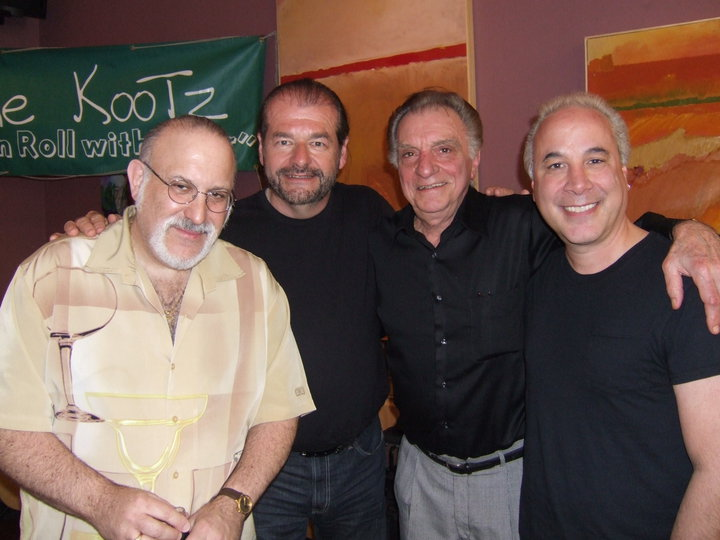 L to R: Glenn Taylor, Pete Bremy, Lou Pallo, Chris Roselle